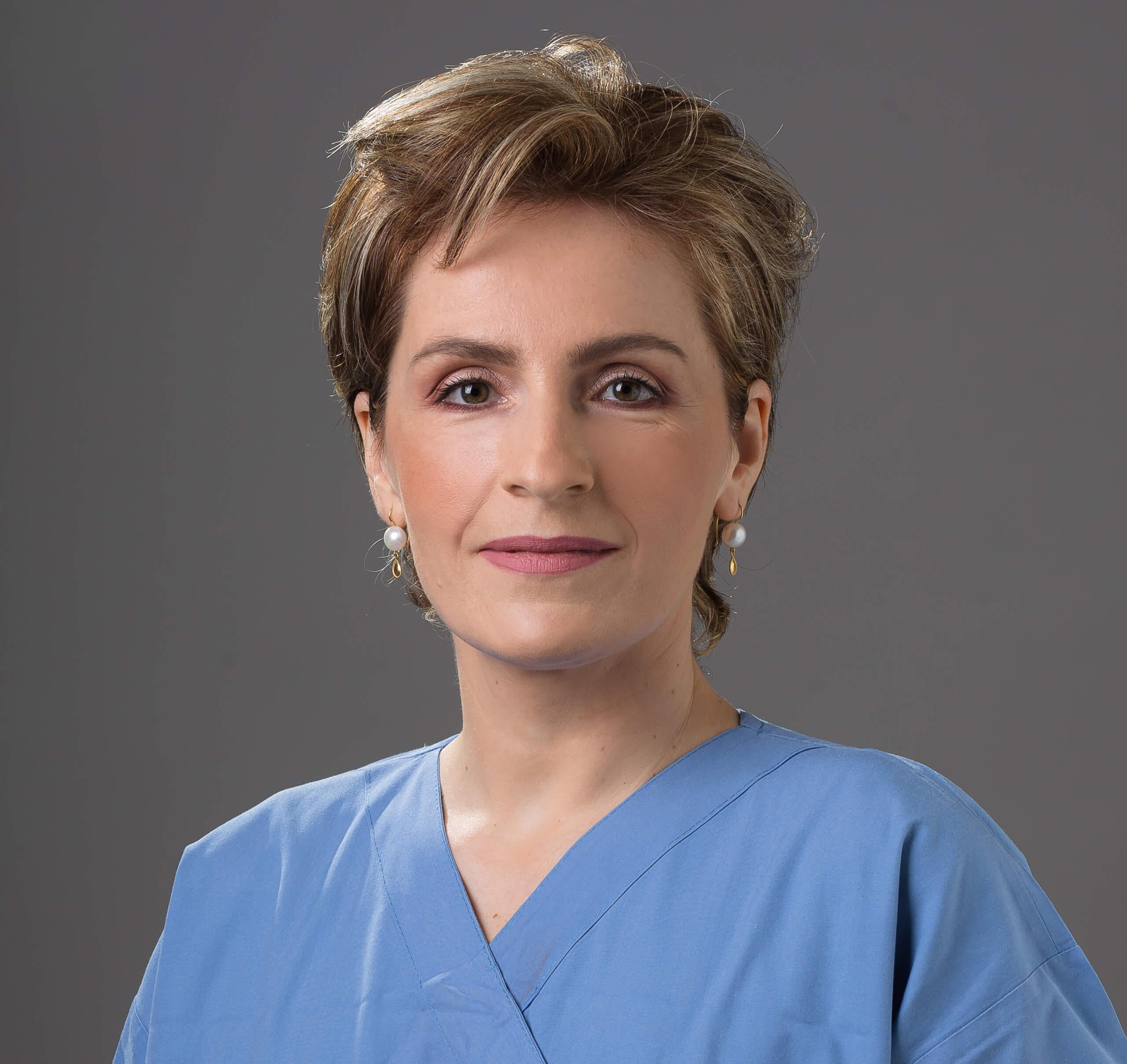 Φωτογραφία της χειρουργού Μαρίας Δημητρίεφ